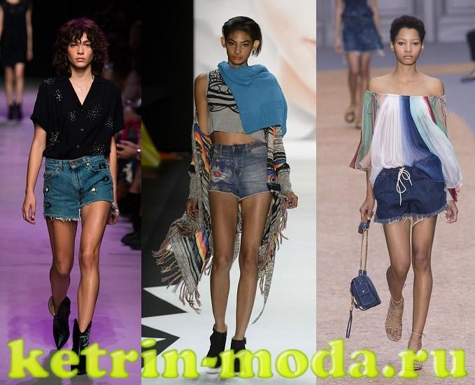Modnye shorty vesna-leto 2017 tendencii trendy foto (8)